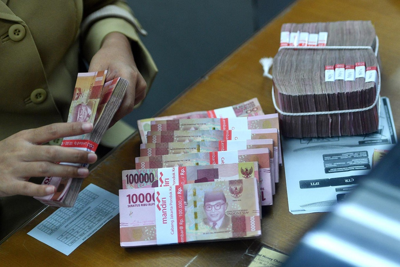 Rupiah Strengthens as Global Pressure Abates: BI
